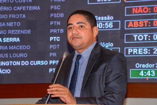 Deputado Zé Inácio cobra rigor na apuração da morte de Ana Cláudia Barros