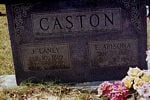 Eva and Jesse Caston Grave