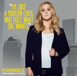 Amy Schumer starred in 'Trainwreck.' Photo courtesy of trainwreckmovie.com