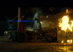 "Batman and Superman face off in ""Dawn of Justice."" Photo courtesy of  batmanvsuperman.dccomics.com"
