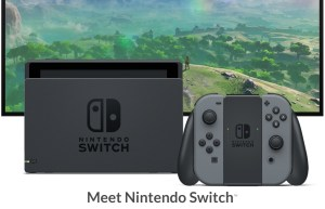 The Nintendo Switch offers options to video gamers. Photo courtesy of nintendo.com