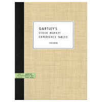 Gartley's Stock Market Experience Tables (1940) by H.M. Gartley
