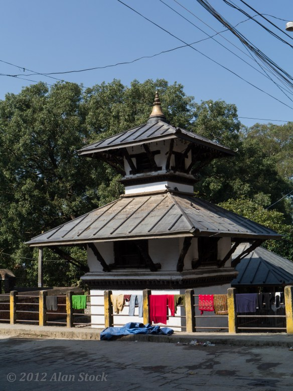 Temple in Gorkha