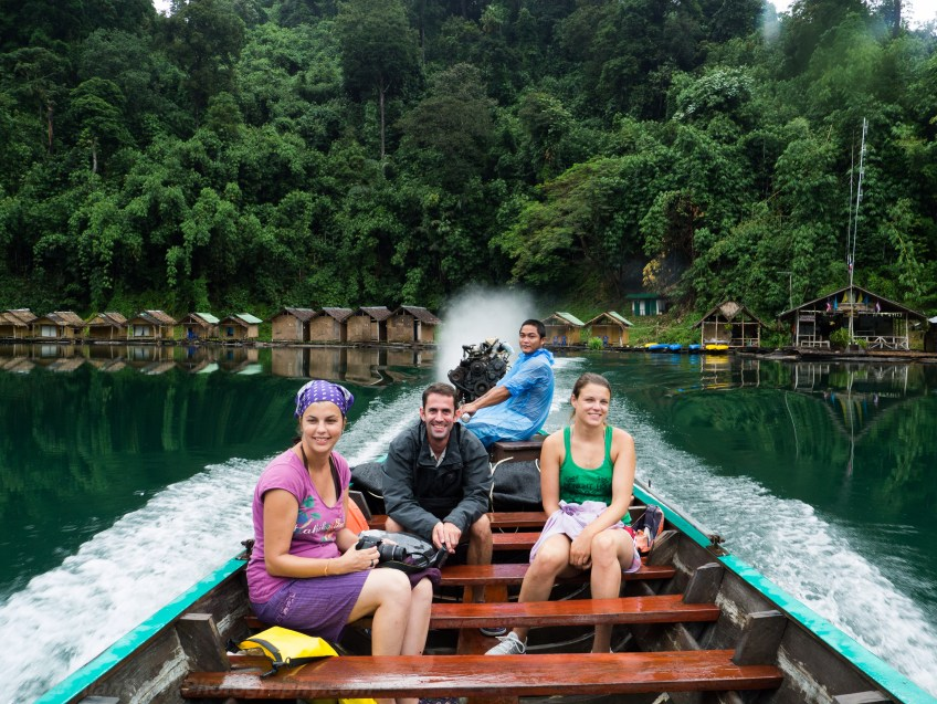 Travelmate Backpackers Boat Thailand Khao Sok
