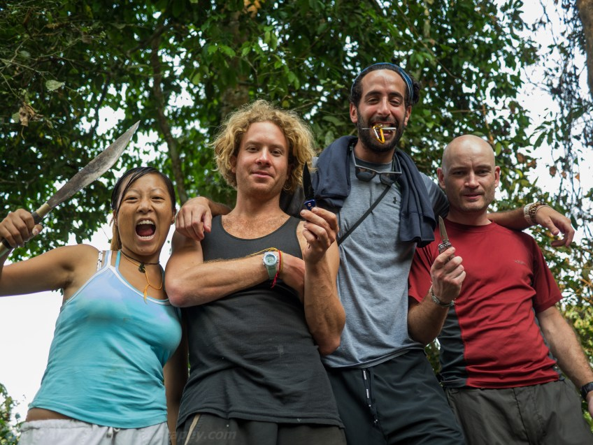 Travelmate Backpackers Group Jungle Adventure Friends