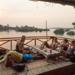 Travelmate Backpackers Chilling 1000 Islands Don Det Laos River Bar