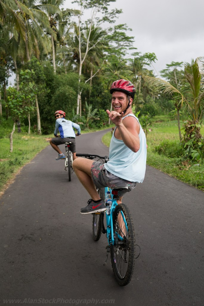 Travelmate Backpacker Cycle Tour Cycling Bali Riding