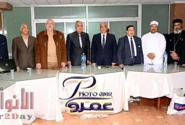 بالصور مكتب الاسكندرية للاتحاد الدولي للصحافة العربية يقيم ندوة تثقيفية للتعديلات الدستورية