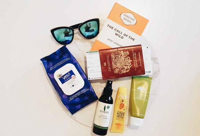 In-flight pamper essentials