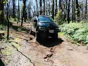 4WD track at Lake Navarino