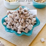 Sea Salted Nutella Peanut Puppy Chow