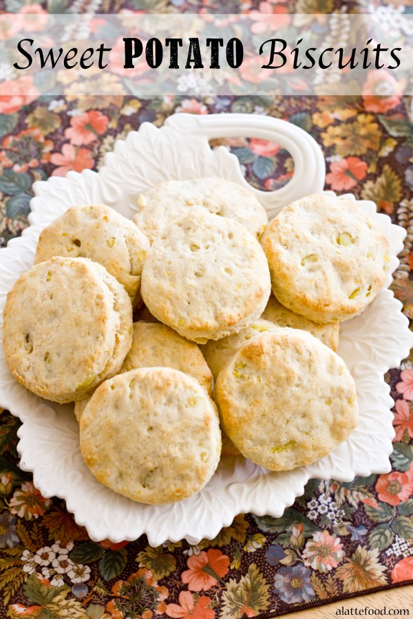 Sweet Potato Biscuits   A Latte Food