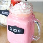 Strawberry White Hot Chocolate