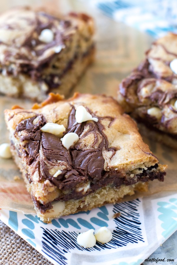 ... chocolate chips, macadamia nuts, and swirls of Nutella, how could they