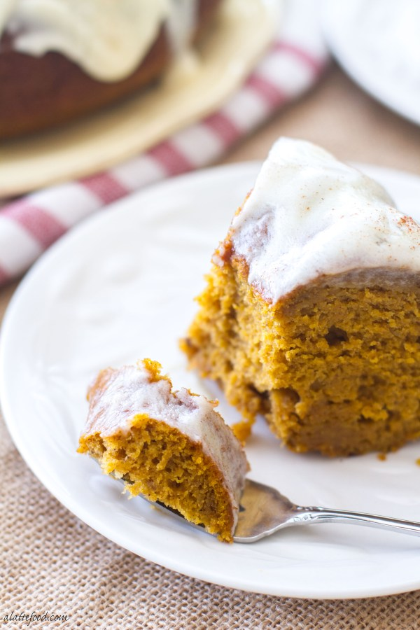 This classic fall dessert is full of pumpkin flavor, cinnamon spice, and rich cream cheese! It is absolutely Heavenly.