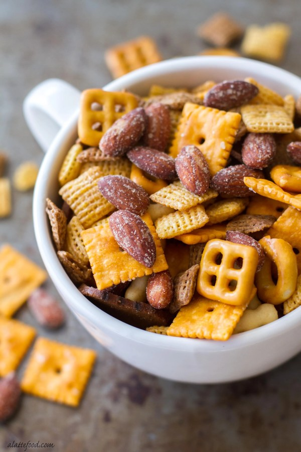Barbecue Smokehouse Party Snack Mix