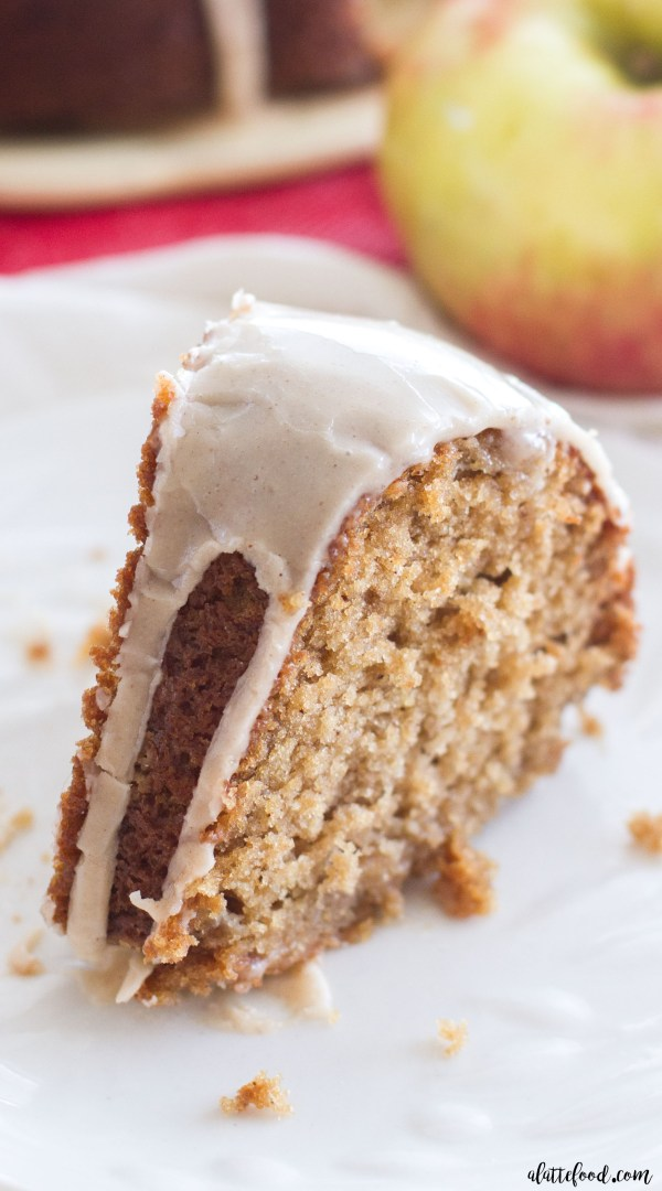 ... perfect dessert filled with both shredded and chopped apples this cake