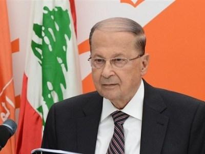 رئيس لبنان يصل إلى القاهرة للقاء