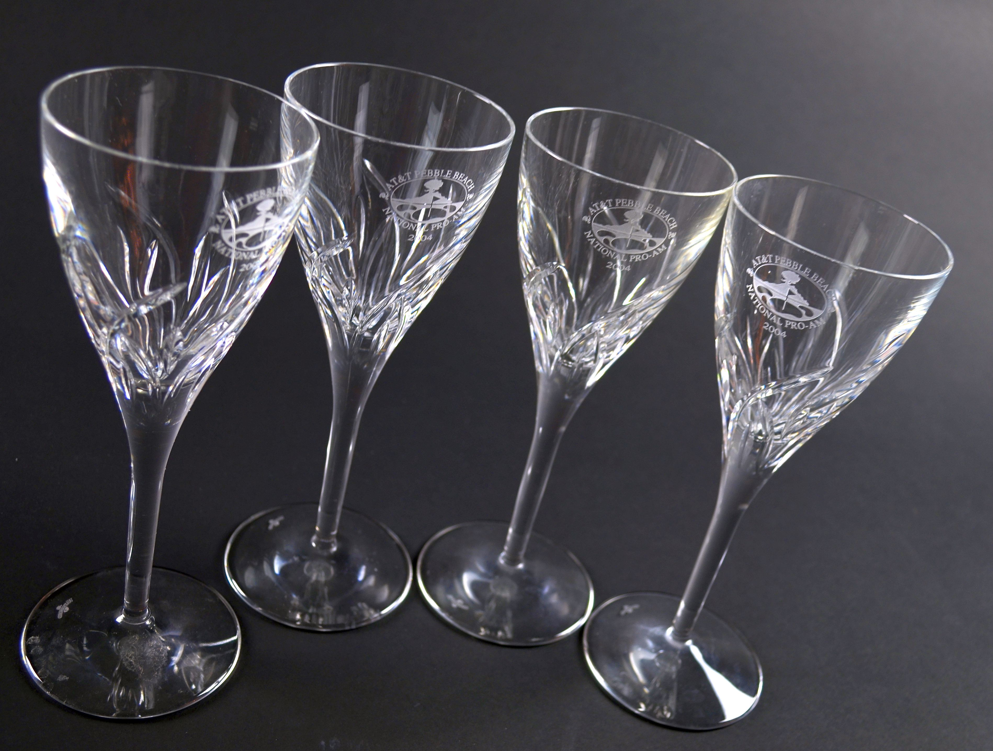 Flagrant Pebble Beach Golf Tournament 2004 Waterford Crystal Wineglasses Lot Detail Set Pebble Beach Golf Tournament 2004 Waterford Crystal Wine Glasses Uk Waterford Crystal Wine Glasses Outlet Set houzz-02 Waterford Crystal Wine Glasses