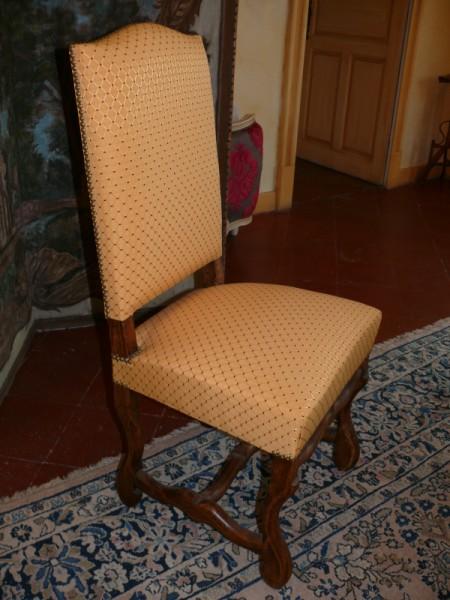 chaise style louis xiv albert antiquit. Black Bedroom Furniture Sets. Home Design Ideas