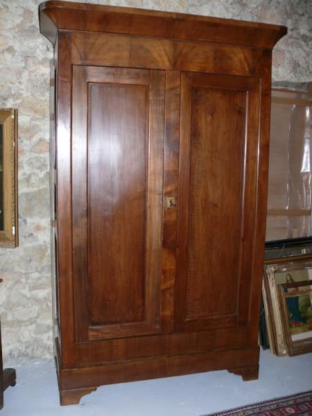 armoire louis philippe albert antiquit. Black Bedroom Furniture Sets. Home Design Ideas