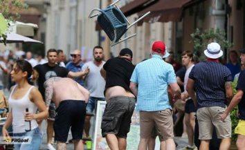 مشاجرات المشجعين الروس فى بطولة اوروبا