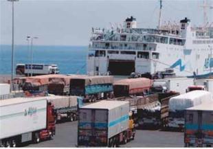 ميناء نويبع - صورة ارشيفية