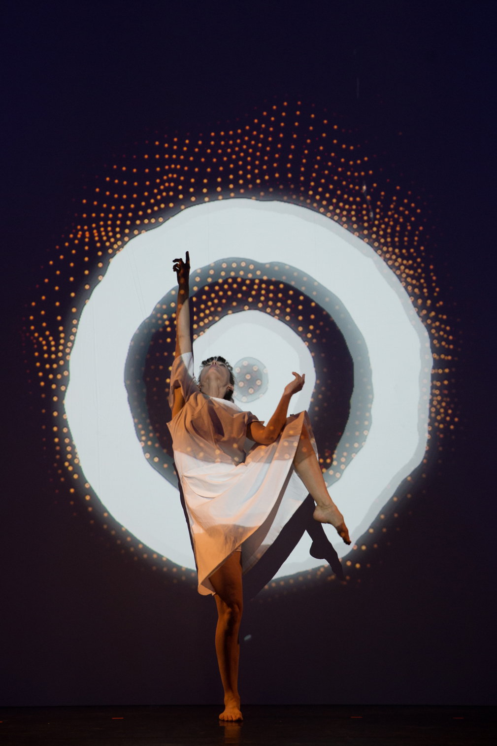 mapping on a dancer