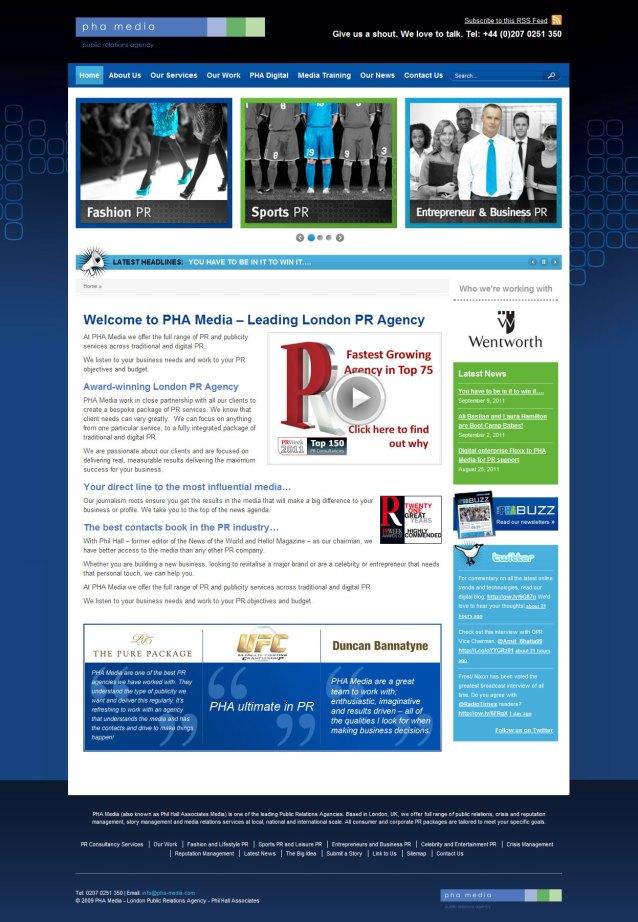 PHA Media - Home