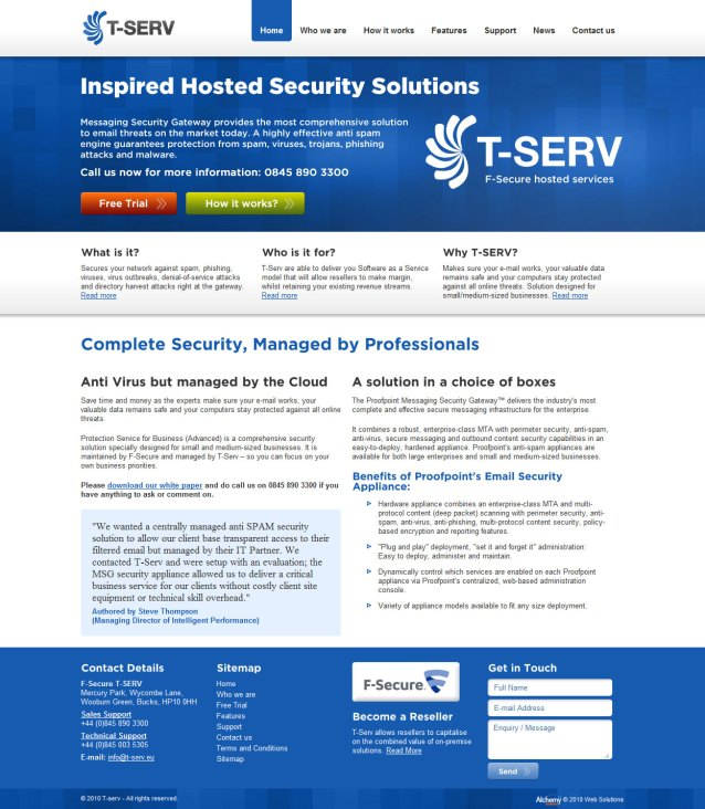 T-SERV - Home Page