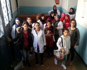 event at Zeinab's school dorm