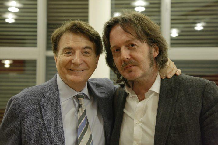 Aldo Dalla Vecchia con Paolo Limiti