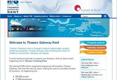 Thames Gateway website