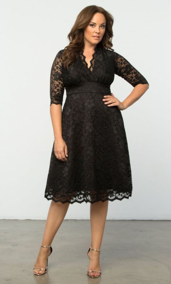 Wedding Guest Dresses For Fall Plus Size : Plus size wedding guest dresses with sleeves fashion
