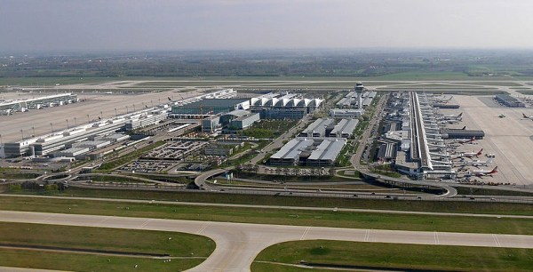 Munich Airport Center. Image from Wikipedia.