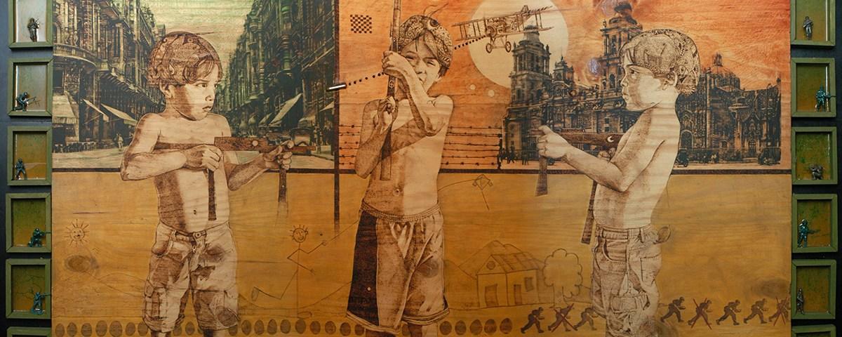 Juegos de un mayor - Alex Cuchilla - El Salvador