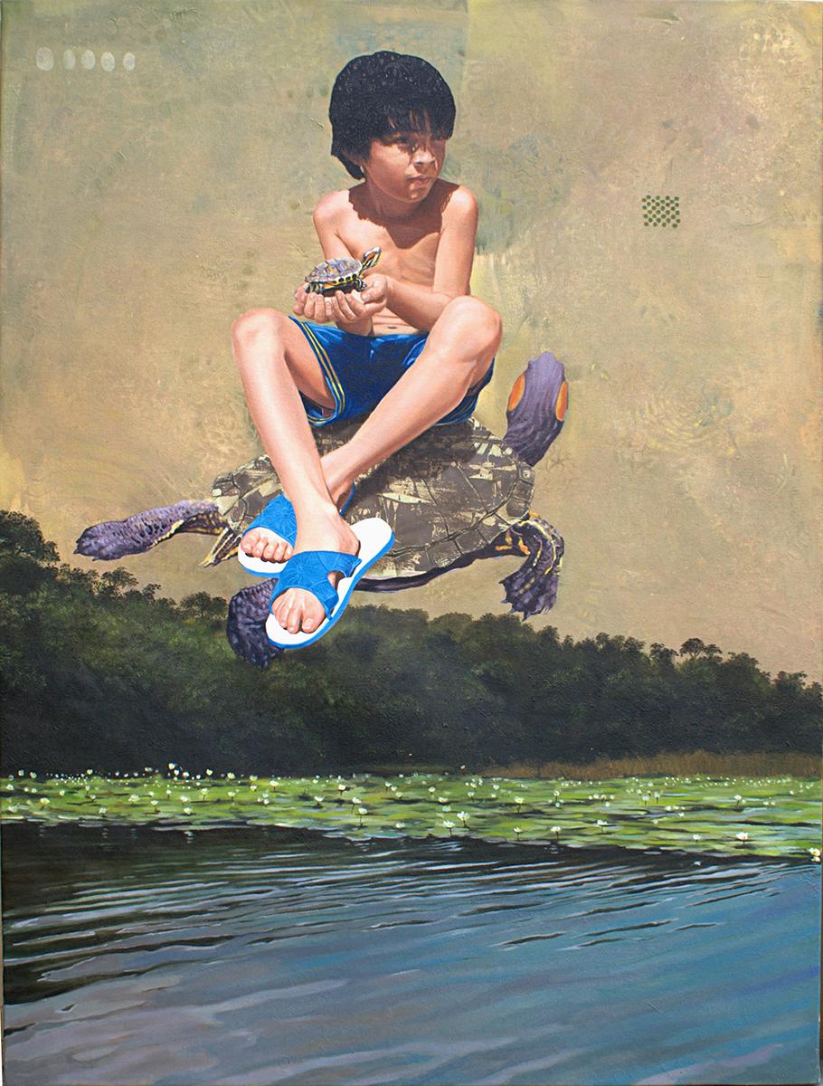 Laguna de las flores - detalle 1 - Alex Cuchilla - El Salvador