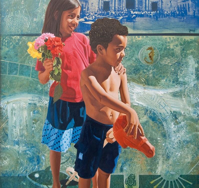 Los verdes campos del mar 2 - serie ciudades sumergidas - Alex Cuchilla - El Salvador
