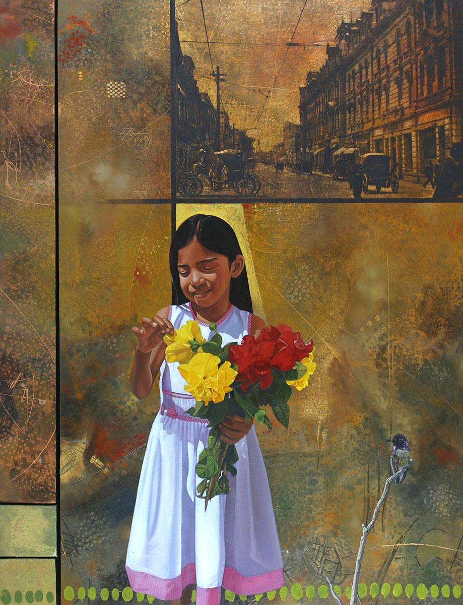 Primavera (políptico) - Alex Cuchilla - El Salvador
