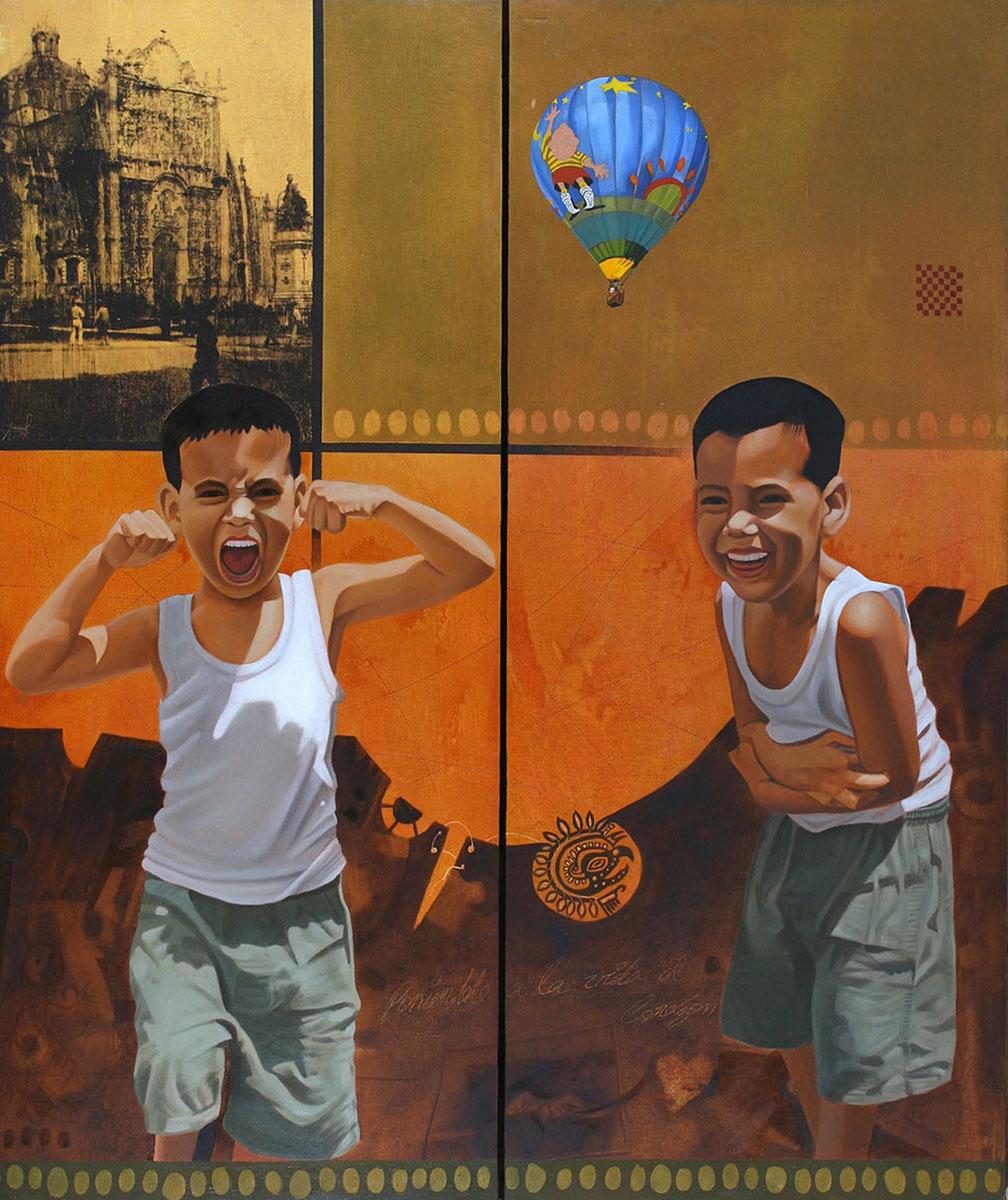 Simplemente David (Díptico) - Alex Cuchilla - El Salvador