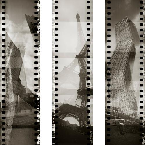 Vertikale, Potsdamer Platz - Eiffelturm - Hotel Arts