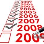 Zwaaien naar 2009
