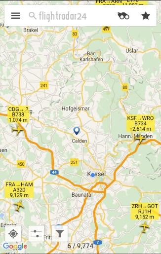 Direkte Ablösung: Frachtflug nach Breslau (WRO), Landeanflug aus Paris (CDG)