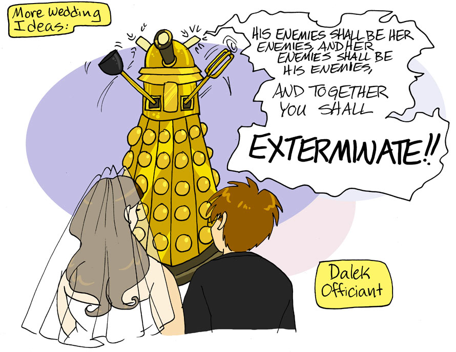 Dalek Wedding