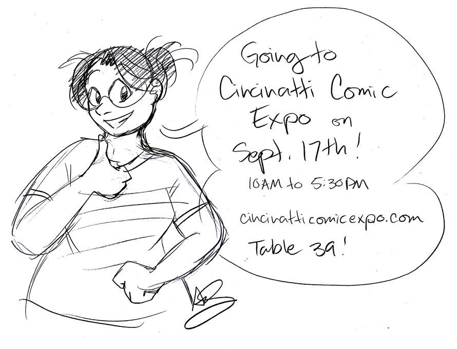 Going to Cincinnati Comic Expo!