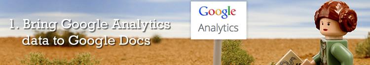 Google Docs Analytics API Data