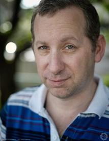 Publicity portrait for actor