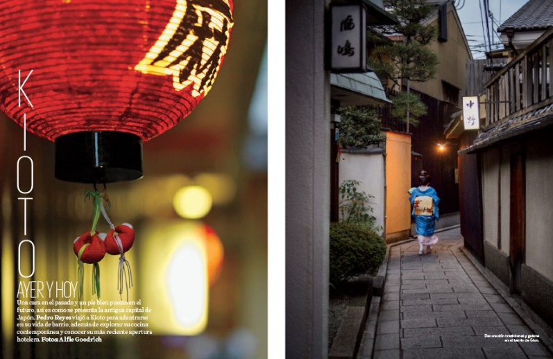Shooting for Travel & Leisure Magazine in Kyoto, Japan