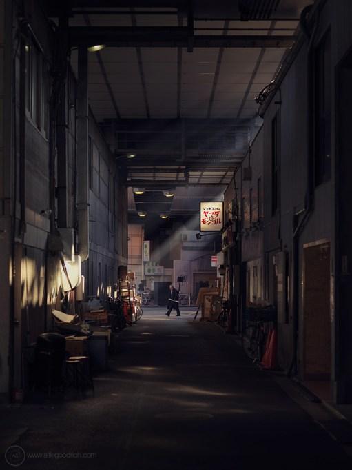 Backstreets of Kanda, Tokyo