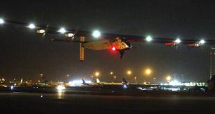 الطائرة سولر إمبلس تشرع في رحلتها النهائية